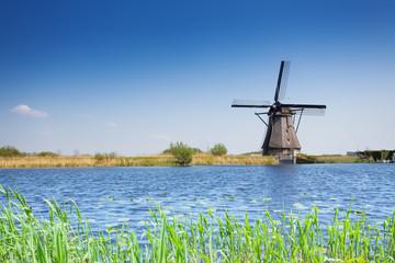 Windmill for arrogation in Netherlands, Kinderdijk