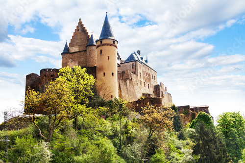 Vianden castle fortifications, Luxembourg - 77904161