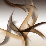 Fototapety Awesome Brown Abstract