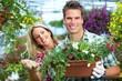 Obrazy na płótnie, fototapety, zdjęcia, fotoobrazy drukowane : Gardening people.