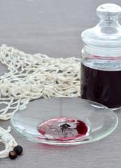 Black currant jam.
