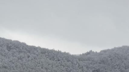 The Castle Lichtenstein in Germany at winter.
