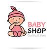 Baby shop logo - 77911762
