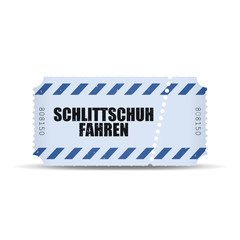 ticket v3 schlittschuhfahren I