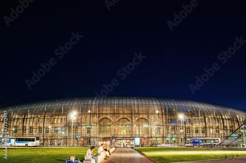 Staande foto Treinstation Gare de Strasbourg or Strasbourg Train Station Alsace