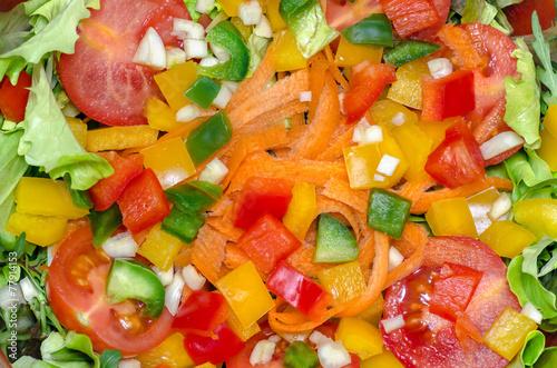 Салатики смешанные с фото