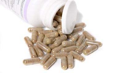Herbal supplement capsules
