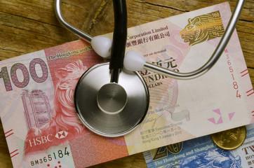 Hong Kong dollar 香港圓 Dólar Dollaro Hongkong hongkonghese de