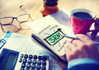 Supplier Relationship Management SRM Assessment Concept