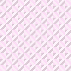 Pink Abstract Rectangle Seamless Pattern