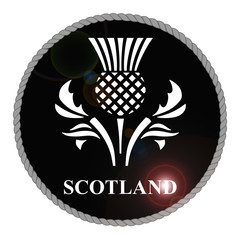 Monochrome Scotland emblem