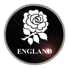 Monochrome England emblem