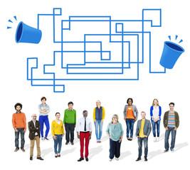 Communication Connection Telecommunication Telephone Concept