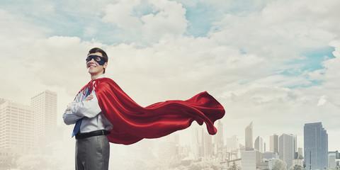Brave super hero