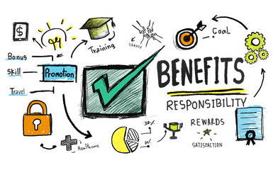 Benefits Gain Profit Earning Income Insurance Satisfaction