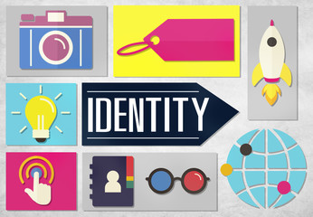 Identity Branding Brand Marketing Icon Concept
