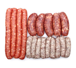 Different type of  sausage