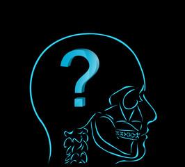 myśl i znak zapytania