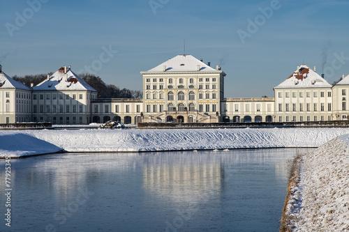 Leinwandbild Motiv Schloss Nymphenburg | München