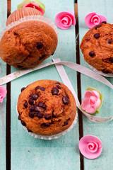 choclate chip muffins