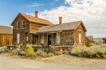 Ghost Western Town in Bodie, California