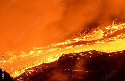 Leinwanddruck Bild Volcan_Reunion
