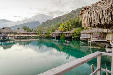 Overwater Bungalows, French Polynesia