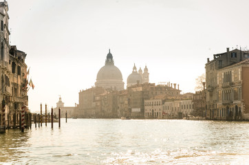 Retro Venice Grand Canal