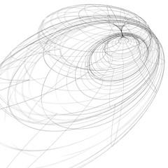 Digital black and white lattice stylish background, abstract net