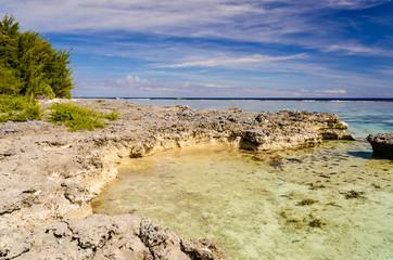 Tropical Beach at Moorea, French Polynesia