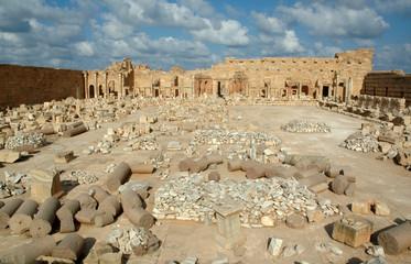 Libia. Leptis Magna. Foro