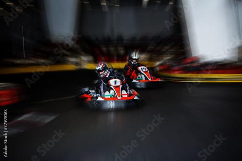 Staande foto Motorsport Kart Race