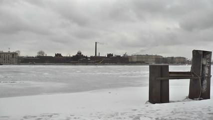 St. Petersburg. Prison on the Neva embankment of the river_2