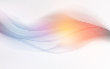 background blue wave flow abstract soft light sky pastel vector