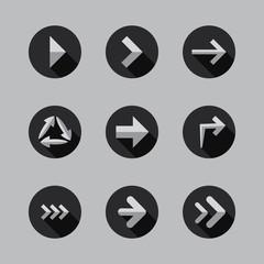 Arrows - Flat Icon Designs
