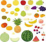 Fototapety いろいろな果物