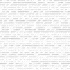 White seamless mosaic pattern. Vector illustration
