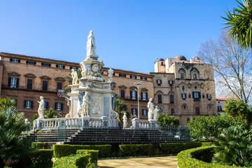 Palazzo dei Normanni in Palermo, Sicily