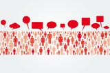 Talking Crowd poster