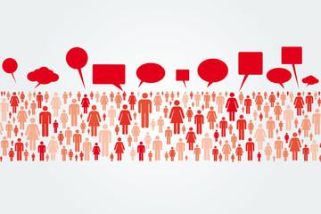 Talking Crowd
