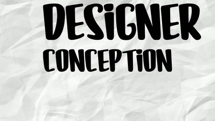 Animation conception