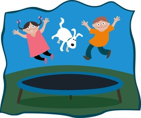 trampoline bouncers