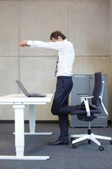 short break for exercise in offce work