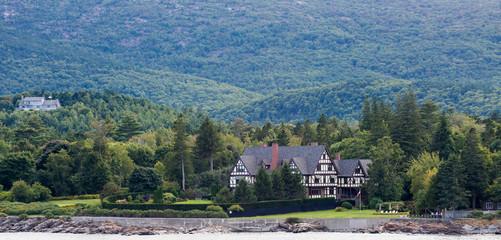 Mansion on Maine Coast