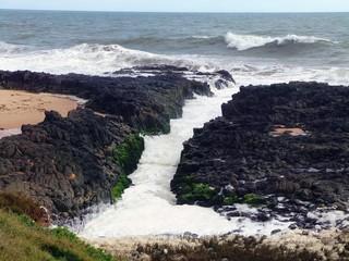 Basalt Rock Channel, Western Australia