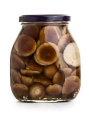 Mushromms marinaded