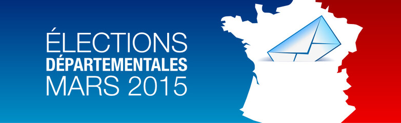 Elections cantonale France bandeau