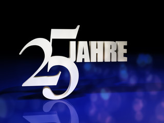 25 JAHRE - B