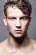 canvas print picture - Portrait von attraktiven Mann