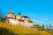 Leinwanddruck Bild - Schloss Eberstein, Gernsbach Obertsrot, Schwarzwald, Baden-Würt